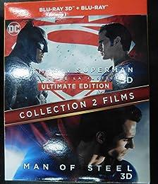 Collection 2 Films : Batman V Superman : L'aube De La Justice + Man Of Steel - C