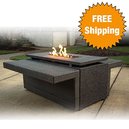 Maddox-Marietta-Gas-Firepit-Table-Alumicast-Rust-Free-Aluminum-Frames-INCLUDES-Twilight-Luster-Glass-Beads-Burner-Cover-Weather-Cover