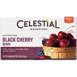 Celestial Seasonings Black Cherry Berry Tea, 20 Count (Pack of 6)