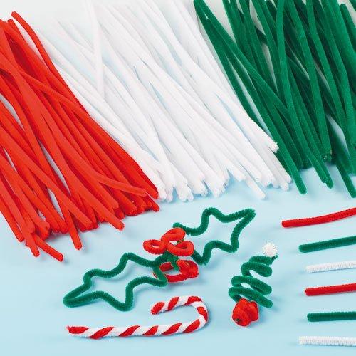Scovolini per decorazioni natalizie (confezione risparmio da 120)