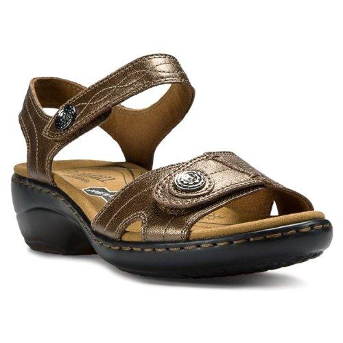Cobb Hill By New Balance Women'S Revminx Dress Sandal,Bronze,7.5 M Us