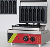 Generic Commercial Use Nonstick 6-cavity Corn Dog Maker