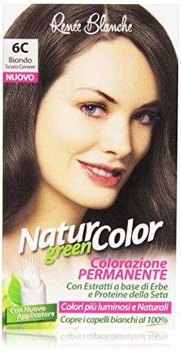 Renée Blanche - Natur Color, Colorazione Permanente, 6C Biondo Scuro Cenere
