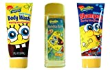Nickelodeon Spongebob Body Wash + Bubble Bath + Shampoo