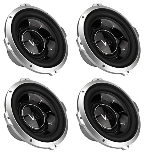 "4 Vm Audio Srw12 12"" 4000W Car Subwoofers Power Subs Woofer Dvc 4 Ohm 4000 Watts"
