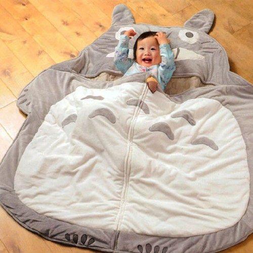 Next to my Neighbor Totoro sleeping bag / dreamy ( shelf ) pillow with microfiber material 016-001-401 FREE
