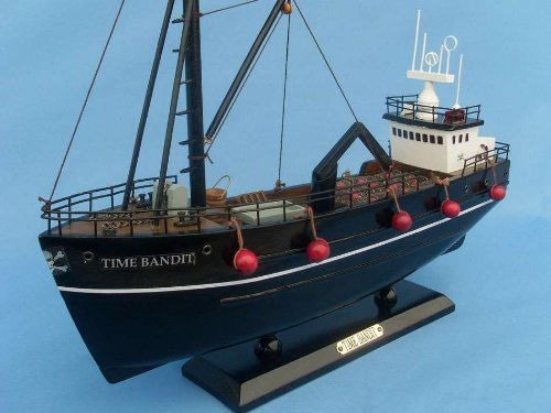 Deadliest Catch - Time Bandit 14 Model Crab Boat - Deadliest Catch
