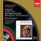 Mahler: Symphony No.9 & Richard Strauss: Metamorphosen -Tod und Verkl�rung