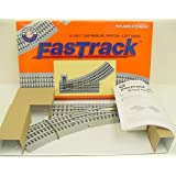 """Lionel Trains Track O FasTrack 36"""" Manual LH Switch"""