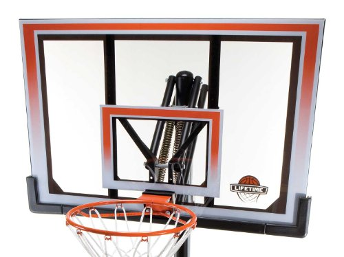 Lifetime 71566 XL Portable Basketball System with 50-Inch Shatter Guard Backboard