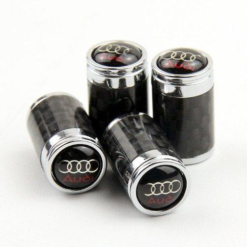 high-quality-carbon-fiber-car-air-tire-valve-caps-for-audi