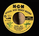 RARE DJ RECORD 45 RPM PROMO OF THE ROYALETTES POOR BOY // WATCH WHAT HAPPENS r & b