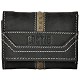 ROSTIG Men's Genuine Leather Wallet Black