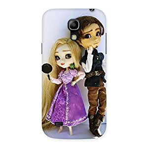 Cute Cutest Couple Multicolor Back Case Cover for Galaxy S4 Mini