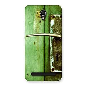 Special Classic Door Green Back Case Cover for Zenfone Go