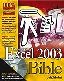 Excel 2003 Bible (0764539671) by Walkenbach, John