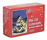 Idena 8325058 LED Lichterkette 80er mit warm weißen LED