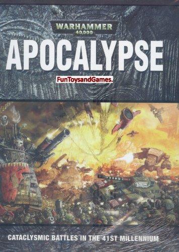 Warhammer 40K Apocalypse Hardcover Rulebook - 1