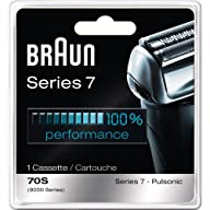 Braun Series 7 Combi 70S Cassette Replacement (Formerly 9000 Pulsonic)-All New Value Pkg (2…