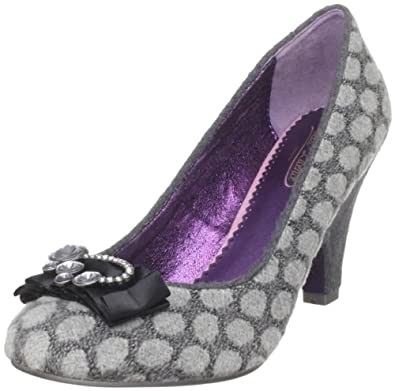 Poetic Licence Women's Charm School Pump,Grey,11 M US(42 EU)