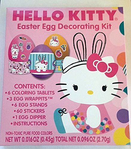 Hello Kitty Easter Egg Decorating Kit