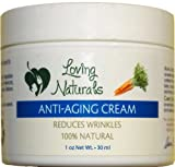 Loving Naturals Anti Aging Cream with Alpha Lipoic Acid and Carrot Seed Oil – 1 oz.