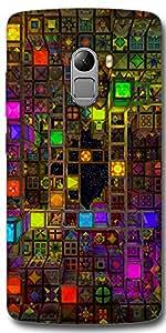 SEI HEI KI Back cover for Lenovo Vibe K4 Note-Multicolor