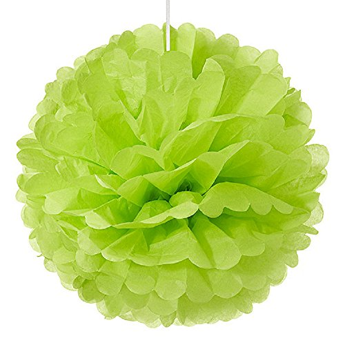 Weddingstar-Paper-Pom-Pom-Large-Grass-Green