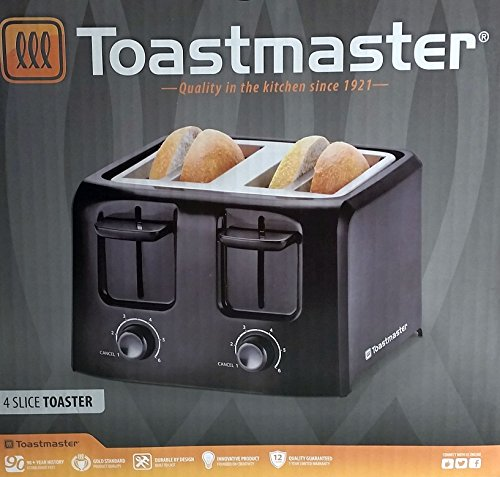 Toastmaster 4 Slice Cool Touch Toaster Tm 45ts Home Garden