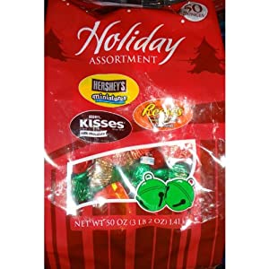 Holiday Assortment 50 Oz Bag Hersheys