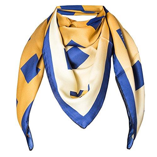VERSACE 19.69 Abbigliamento Sportivo SRL - Sciarpa V1969 Blu Oro