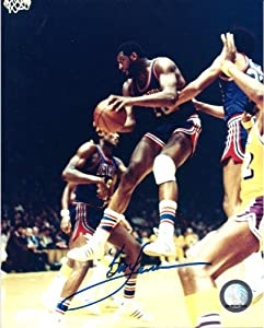 Bob Lanier Detroit Pistons Signed Autographed 8x10 Photo W COA by Hollywood Collectibles