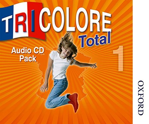 Tricolore Total 1 Audio CD pack - 5 Class CDs 1 Student CD