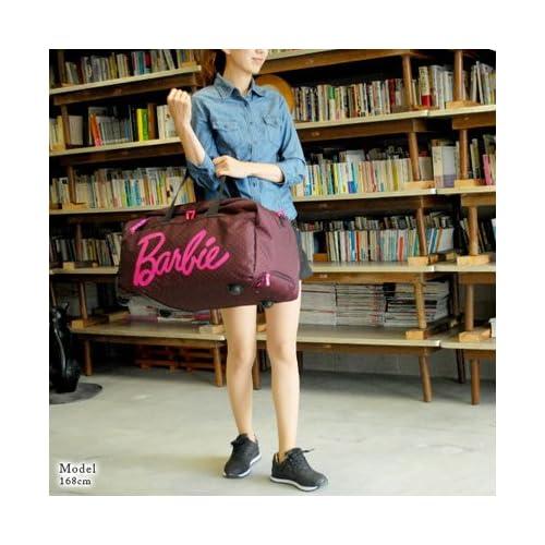 (バービー) Barbie 3wayボストンキャリー 40L ショルダーバッグ スーツケース [リズドット] 45918