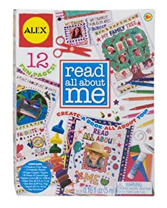Read All about Me Activity Book Kit: Personal Journal Activity Kit