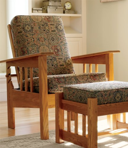 L.L.Bean Morris Chair With Chenille Tapestry Cushions