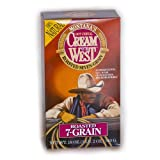 Cream of the West All-Natural Roasted 7-Grain Hot Cereal, 18-Ounce Box (Pack of 3)