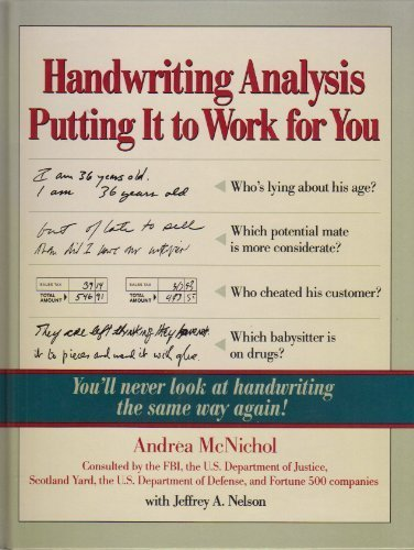 Handwriting Analysis Books