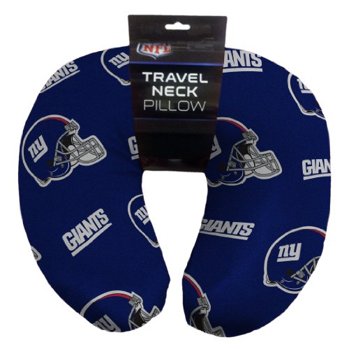 NFL New York Giants Beaded Spandex Neck Pillow at Amazon.com