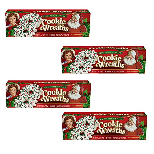 Little Debbie Christmas Wreath Cookies Pack Of 4 Shopswell