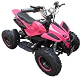 Kids Rocket Rampage Extreme 1000w Electric Battery Quad Bike 36v 1000 watt Ride On Quad Bike (Pink)