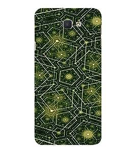 EPICCASE Trippy green Mobile Back Case Cover For Samsung Galaxy J7 Prime (Designer Case)
