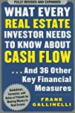 img - for What Every Real Estate Investor Needs to Know about Cash Flow( And 36 Other Key Financial Measures)[WHAT EVERY REAL ESTATE INVESTO][Paperback] book / textbook / text book