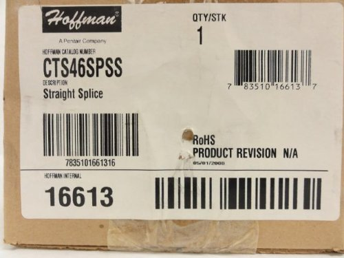 Hoffman CTS46SPSS Straight Section Splice, Sloped sale off 2016