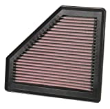 51wJbhuk8yL. SL160  K&amp;N 33 2401 High Performance Replacement Air Filter