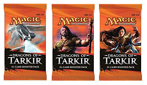 3 (Three) Packs of Magic: the Gathering - MTG: Dragons of Tarkir Booster Pack Lot (3 Packs)