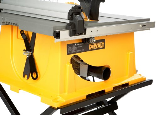DEWALT DW744X  10-Inch Job-Site Table Saw with 24-1/2-Inch Max Rip Capacity