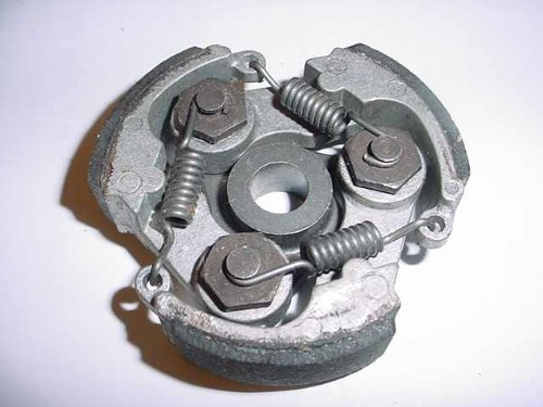 Image of CLUTCH (NO KEYWAY) for Chinese made 2-STROKE 33c, 43cc, 47cc, 49cc / 50cc SCOOTERS, POCKET BIKES, CHOPPERS, DIRT BIKES (B007J5EIK2)