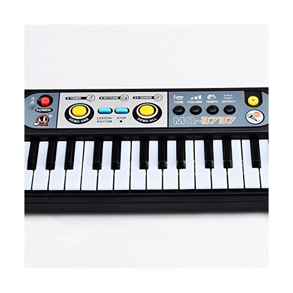 Piano for Kids, Yamix Multi-function Educational Toy 37 Key