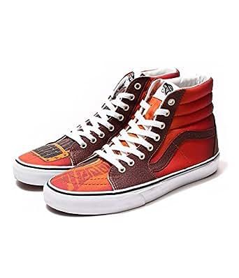 Men 39 s vans custom culture brown trwt skate for Vans amazon